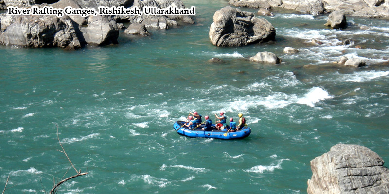River Rafting in Ganges, Rishikesh, India