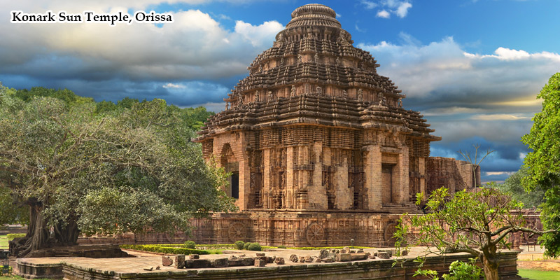Konark Sun Temple in Orissa Tour