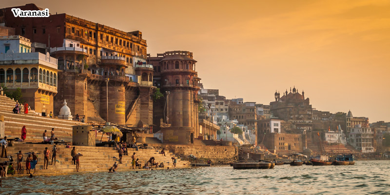 Varanasi Ghat, Ganges and Central India Tour