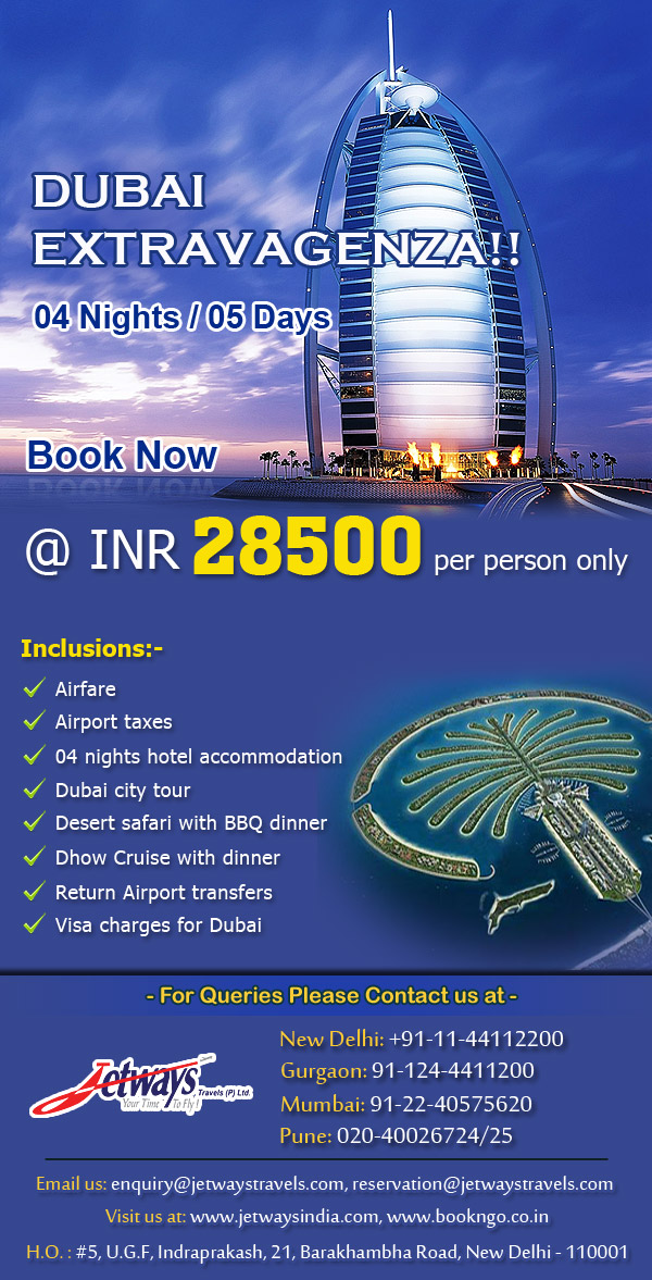 Taj Tours Dubai Package